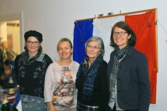 v. li: Regina Völkel, Manuela Baur, Hannelore Sutter und Anja Kratzer